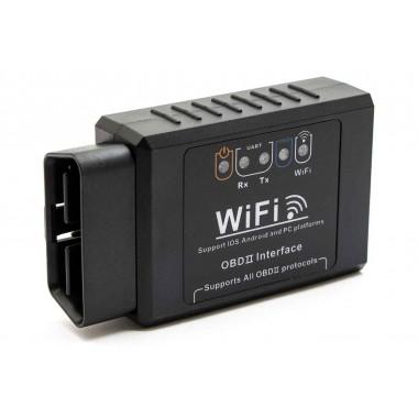 Автомобильный автосканер OBD2 Wi-Fi PIC18F25K80 ELM327 v1.5 для Android и Iphone (диагностический адаптер для автомобиля)