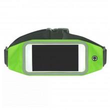 Сумка поясная для телефона для бега SunnySport для телефонов до 4.7 дюймов зеленая