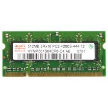 Модуль памяти для ноутбука SODIMM DDR2 512MB PC4200 533МГц б.у.