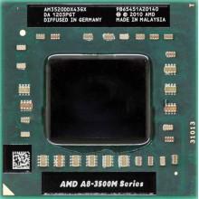 Процессор AMD A8-3500M AM3520DDX43GX