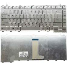 Клавиатура NFC для ноутбука Toshiba A200 M300 L300 A300 серебряная RU совместимая