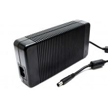 Блок питания NFC для ноутбука Dell 19.5V 12.3A 7.4x5.0мм разъём толстый с иглой для DELL Alienware M17X M17XR2 M17X-R2 совместимый без кабеля питания