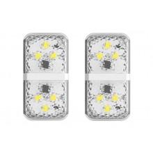 Дверная автомобильная лампа Baseus Door Open Warning Light CRFZD-02 белая