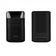 Универсальный внешний аккумулятор Power Bank 10000мАч Hoco Domon B29 2USB порта 5V 2.0A черный