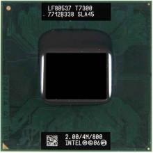 Процессор для ноутбука Intel Core 2 Duo SLA45 2.0/4M/800 T7300 б.у.