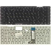 Клавиатура NFC для ноутбука Asus D451 F450 X451 черная рамка черная RU совместимая