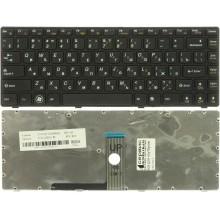 Клавиатура NFC для ноутбука Lenovo B470 G470 V470 черная RU совместимая