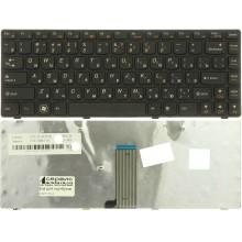 Клавиатура NFC для ноутбука Lenovo B480 G480 Z480 черная RU совместимая