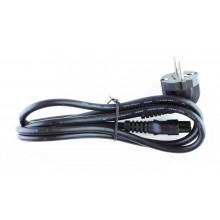 Кабель питания 220V для блока питания ноутбука стандартный 3-контактный длина 1метр Lenovo FRU 00XL065