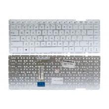 Клавиатура NFC для ноутбука Asus D451, F450, X451 белая, без рамки RU совместимая