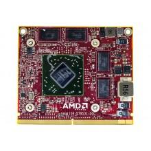 Видеокарта для ноутбука Packard Bell LJ71, KBYF0 ATI Mobility Radeon HD4670 1GB, 109-B79531-00C, VG.M960H.004, 216-0729040 б.у.