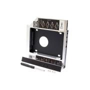 """Внутренний переходник Optibay 12.5-12.7 SATA для установки жесткого диска или SSD 2.5"""""""
