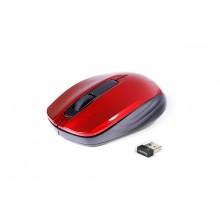Мышь оптическая беспроводная Smartbuy ONE SBM-332AG-R USB красная с черным